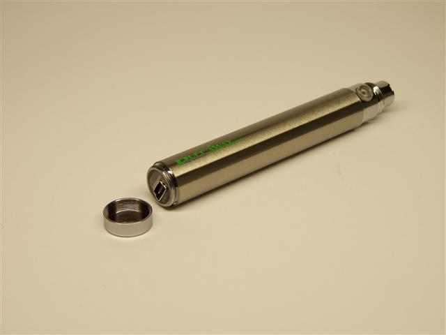 Ecigarette battery Silver