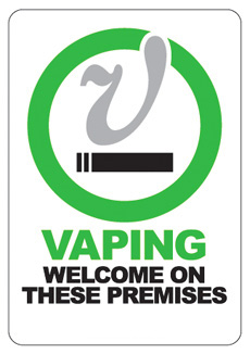 vaping welcome